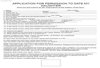 daughter dating application