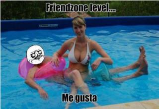 Once you get sent to the friendzone you can never get out...