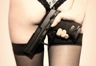 Beautiful women with big guns!!