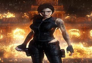 Various High-Res Cg Pics of Sexy Heroine Lara Croft