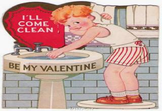 well written valentines day cards, not sure that messages like that would be on the shelves of major supermarkets.