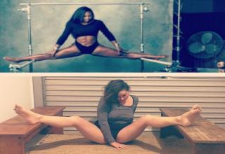 """Email Comments  Comedian Celeste Barber is taking some of the most popular celebrity photos and recreating them as a normal person. The results aren't just hilarious — they show just how """"real"""" photos shared by the rich and famous are."""