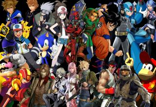 15 High Resolution Wallpapers of Video Game Characters
