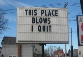 "There are many different ways to say "" I quit ""."