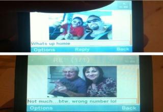 Oops wrong number