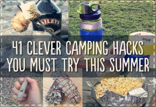 Make your next camping trip better with these simple tips and tricks.