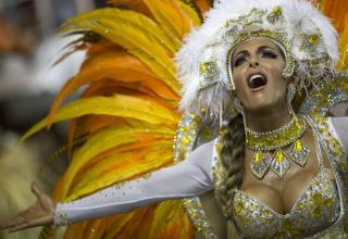 Carnival is a festive season which occurs immediately before Lent the main events are usually during February. Carnival typically involves a public celebration or parade combining some elements of a circus, mask and public street party. People often dress up or masquerade during the celebrations.