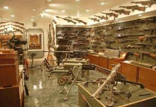 Many say that this gun collection belonged to the late Charlton Heston, while others say it belongs to a Connecticut resident Bruce E. Stern. It is simply insane how many different variants of weapons there are here. I want to be here when the zombie apocalypse begins!