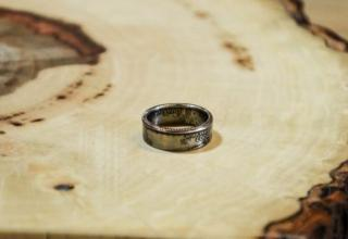 How to make a nice ring out of a coin. I think I may actually try this.