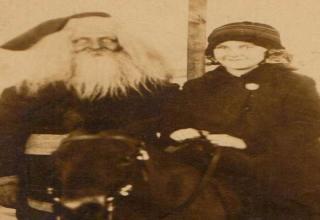 The creepiest of Santas