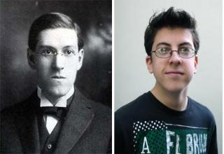 These people may be famous today, but they look suspiciously like famous people of the past.