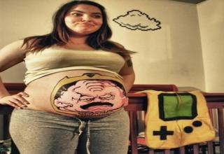 Check out these brave optimists, who found excellent costumes during their pregnancies.