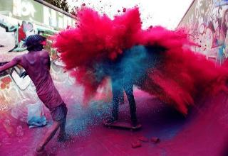 This Beautiful Explosion of Color Is One of the Coolest Holidays You Never See