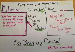 A collection of hilariously sassy and passive-aggressive notes.