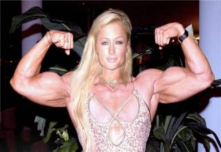 14 Images Of Celebrities With Mega Muscle Mass Gallery