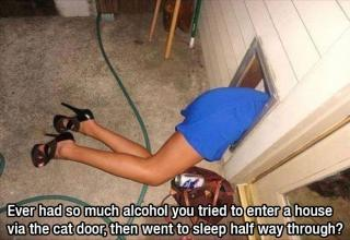You just got sooo wasted...