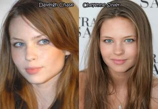 Most complete list of your favorite celebrity porn star dopplegangers...