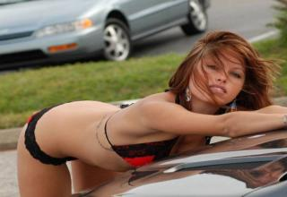 Spectacular car wash girls want to clean your car in a most epic way