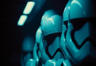 Images from the first teaser trailer for Star Wars: Episode VII - The Force Awakens...