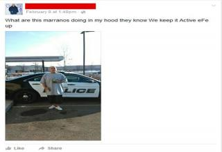 Gangster Taunts Police on Facebook and Police Respond