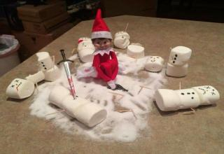 Inappropriate Elf on a Shelf - Gallery | eBaum's World