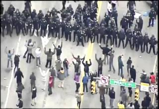 What are your thoughts on the riots in Baltimore?