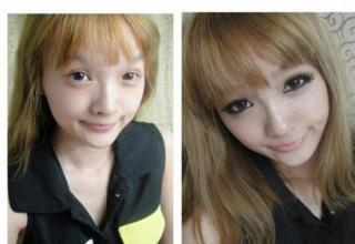 Chinese girls with amazing makeup skills