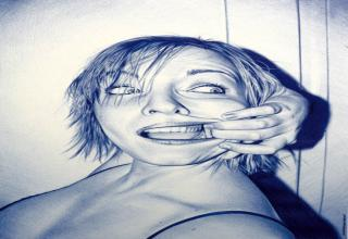 A collection of stunning ballpoint pen drawings from various talented artists.