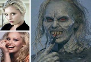 Watch these actors transform into the creatures of nightmares with just a little help from makeup.