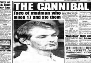 From the days when serial killers dominated the news.