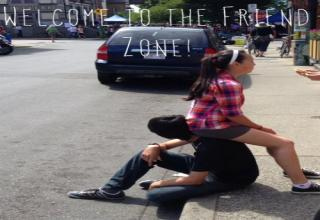 The friend zone.. the worst form of denial a man could ever come across.