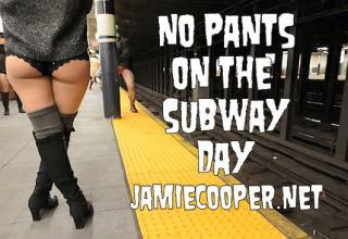Tens of thousands of people around the world have taken part in the No Pants Subway Ride 2014, riding subway networks in their underwear in a carefully-orchestrated international prank.What started with just seven men in New York 12 years ago has ballooned to become an event recognised in over 60 cities in more than 25 countries