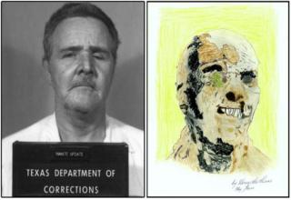 art by serial killers, in my pals private collection