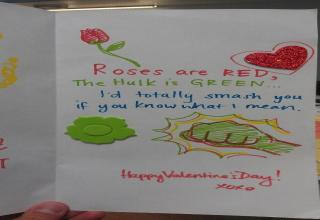 If you're looking for an unconventional Valentine's card, then these options are a good place to start your search
