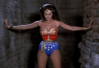 Lynda Carter and her bouncy brilliance