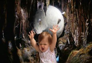 This is my kid and the magic of Photoshop