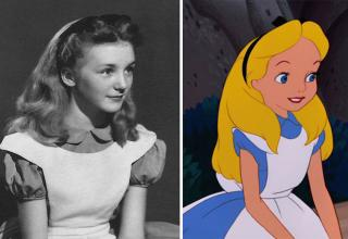The real life actress behind Alice in Wonderland
