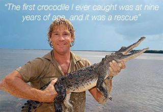 It has been just under 9 years since the unfortunate passing of everyone's favorite Australian, Steve Irwin, who lived a life dedicated to helping wildlife and preserving their well-being. Today is Steve's birthday, and there's no better way to celebrate his life than by sharing some Crocodile Hunter wisdom! Happy Birthday Steve.