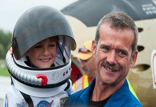 Canada's most interesting man, Cmdr. Chris Hadfield