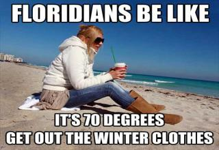 Winter is on our doorstep and it's not this funny.