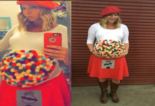 19 funny maternity halloween costumes