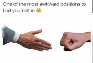 Here are a few awkward moments