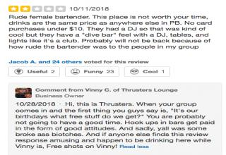 Savage Business Owner Obliterates Yelp Reviewers - Wow