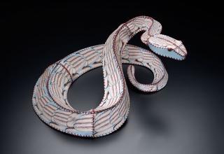 Sculptor and artist Anne Lemanski created numerous sculptures to represent endangered animals.