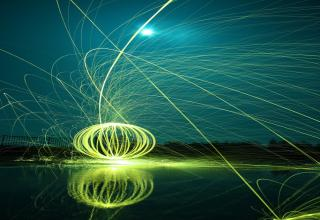 You can create all sorts of cool designs and effects with steel wool light painting long exposure photographs. Check out these awesome examples!