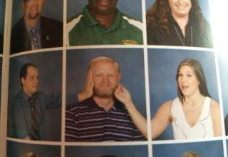 Check out these pictures of the funniest things ever slipped into a yearbook.