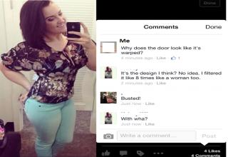 A collection of painfully awkward Facebook moments that will make you cringe