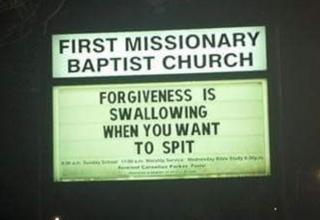 26 dirty church signs - Gallery | eBaum's World
