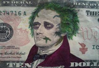 It may be a federal crime, but some of these acts of vandalism on American currency sure look like art.