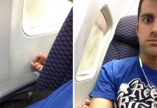 There are so many things that people should never do on planes